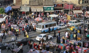 The chaos of Cairo, from which planned satellite communities such as Sheikh Zayed City offer respite.