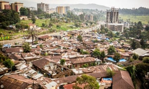 A slum in the old Piassa neighbourhood of Addis Ababa that is slated for demolition.