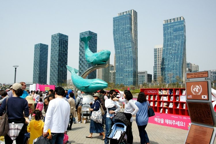 When CityLab's Linda Poon visited Songdo this spring, she spoke with residents who have had trouble building community in the new city.