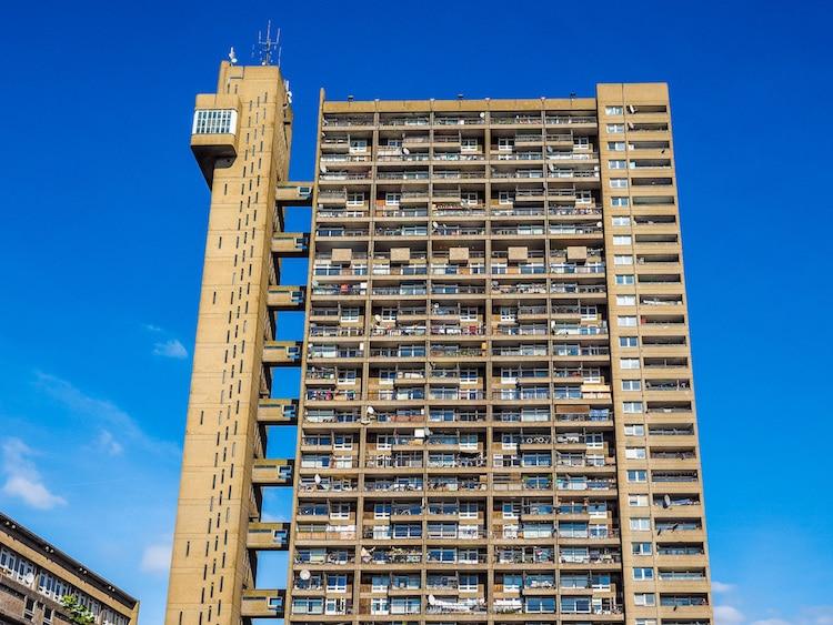 Brutalism in England