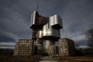 The Monument to the Uprising of the People of Kordun and Banija in Petrova Gora, Croatia