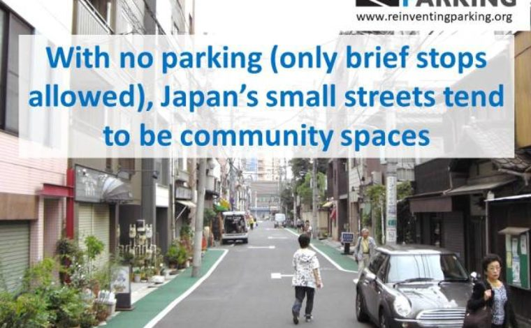 Parking @ Small Streets – Japan – Urban Projectization