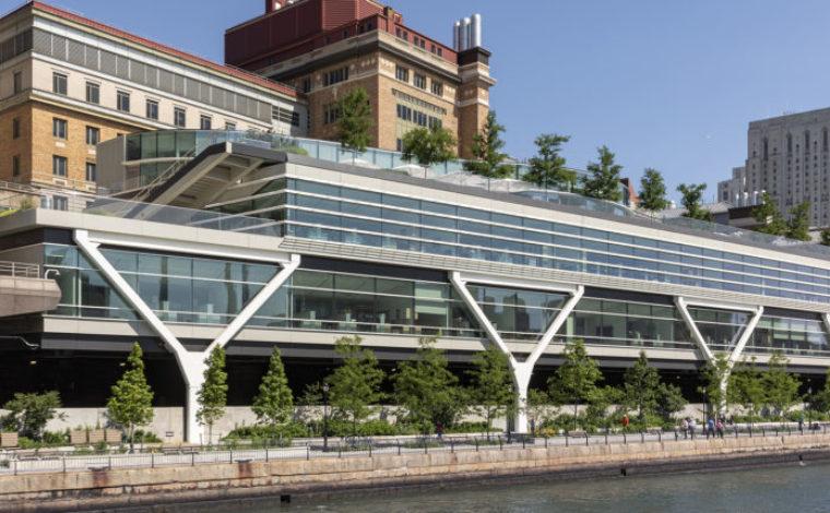 Rockefeller University Esplanade