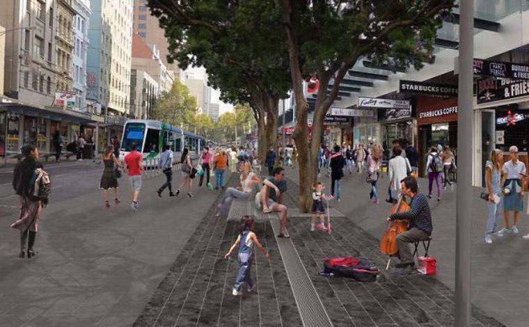 Elizabeth Street southbound lane closure 2020