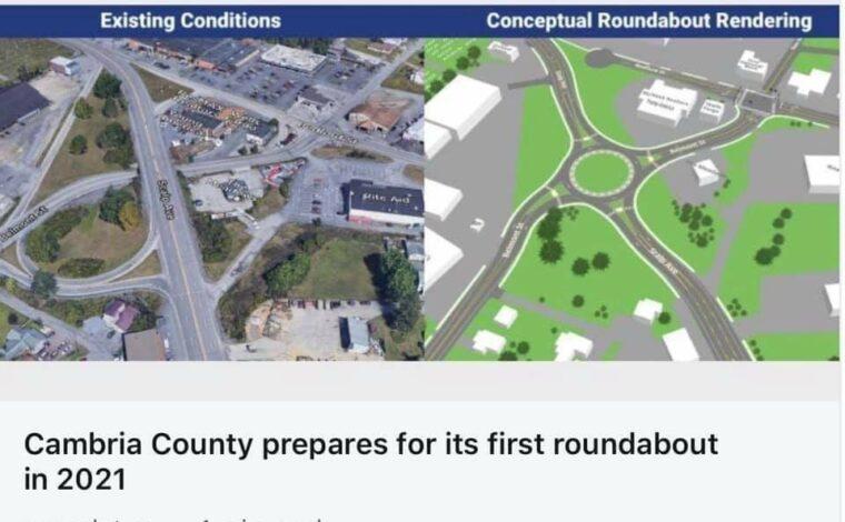 1st Roundabout..!