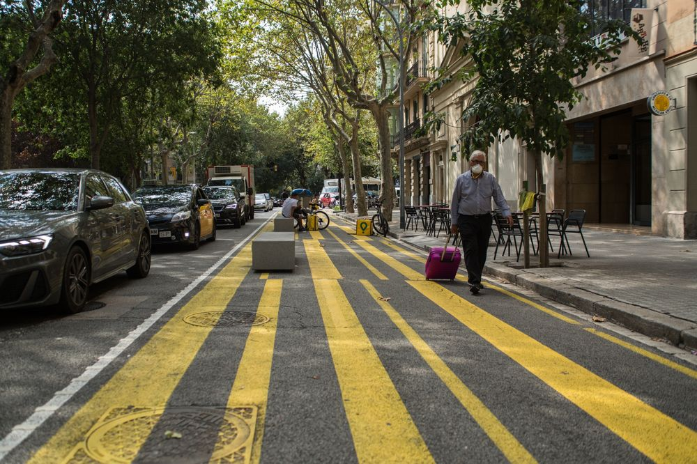"""Pedestrian-first areas have proliferated around Barcelona since 2016. But thelatest """"superblock"""" plan involves a bigger part of the city."""