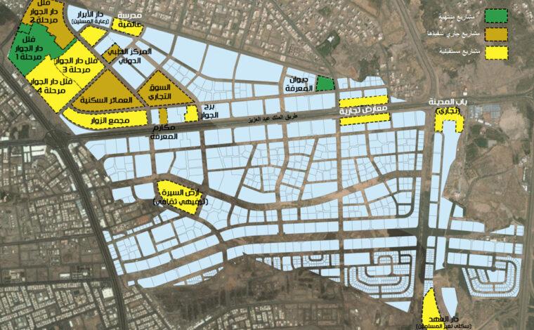 المخطط العام لمدينة المعرفة الاقتصادية – Urban Projectization