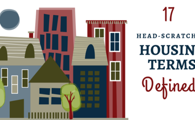 17 Head-scratcher Housing Terms, Defined – Urban Projectization