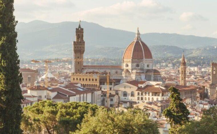 Florence, Italy. Image by Giuseppe Mondì on  Unsplash .