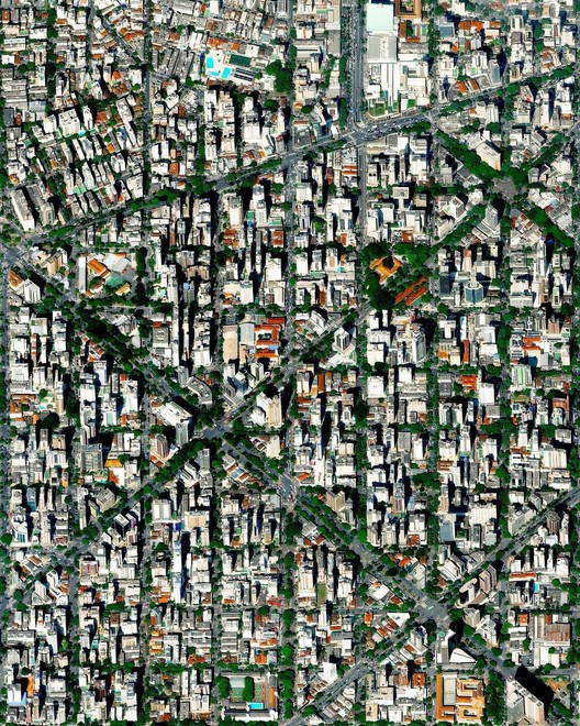 Belo Horizonte, Brazil. Created by @overview Source imagery: @maxartechnologies
