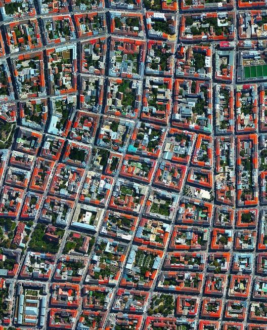 Vienna, Austria. Created by @benjaminrgrant, source imagery: @digitalglobe