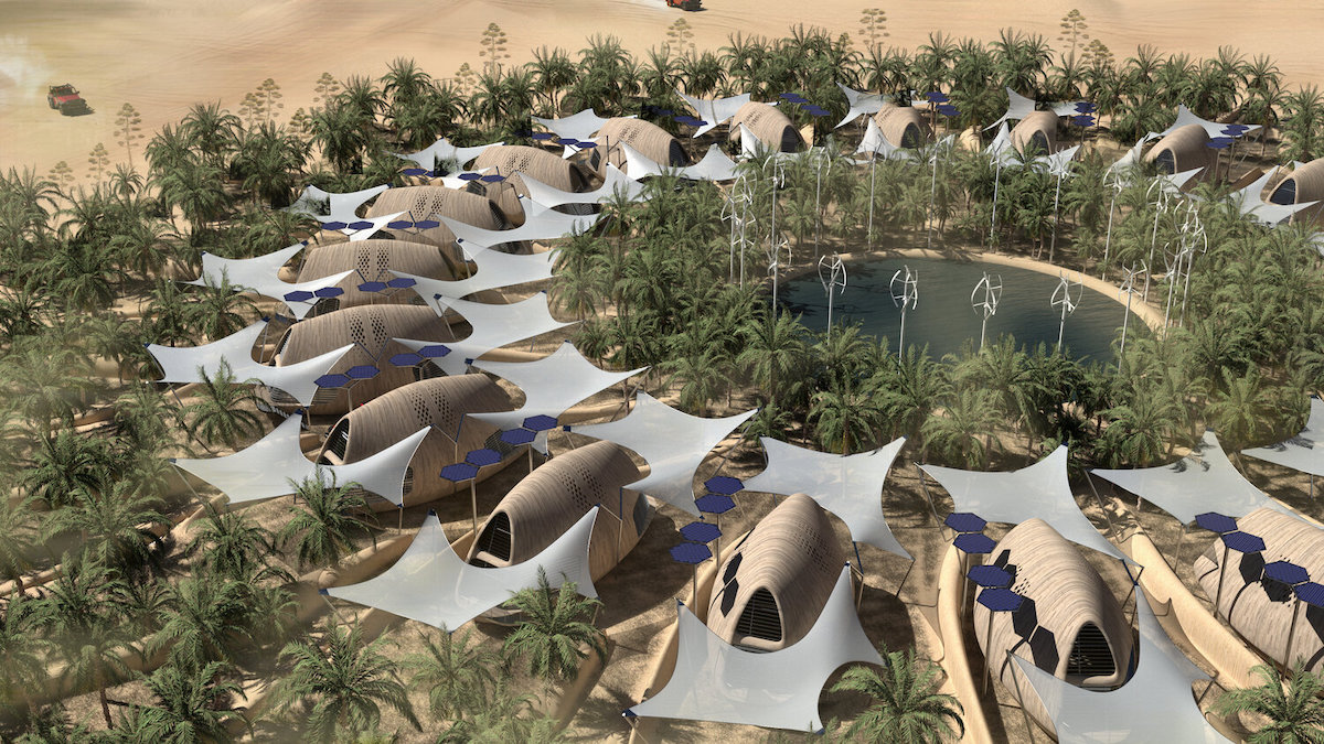 Architects Design Biocabins For a World Disrupted by Climate Change
