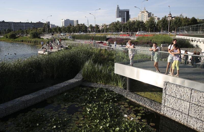 Summer in Kazan, Russia